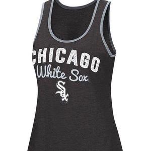 Tops - Glitter tank Chicago White Socks